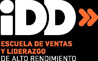 Logotipo iddealia blanco